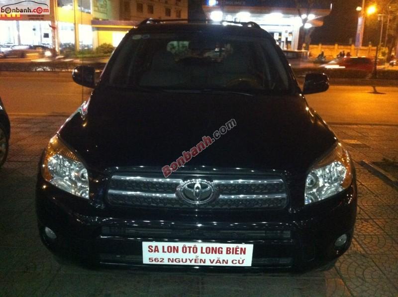 Cần bán xe Toyota RAV4 Limited đời 2008, màu đen, nhập khẩu Nhật Bản chính chủ