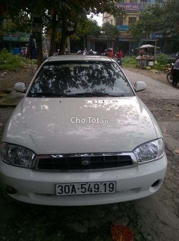 Bán xe Kia Spectra đời 2005, màu trắng, nhập khẩu, chính chủ