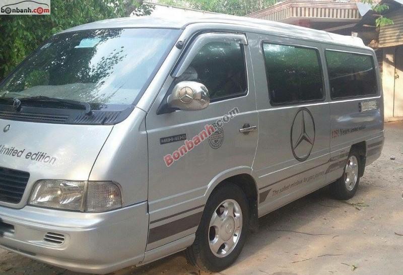 Bán xe Mercedes đời 2002, màu bạc, nhập khẩu nguyên chiếc