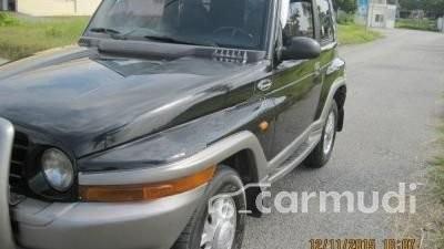 Bán ô tô Ssangyong Korando AT đời 2005, màu đen, nhập khẩu đã đi 100000 km