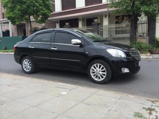 Bán xe Toyota Vios 2010, màu đen, nhập khẩu chính hãng, chính chủ
