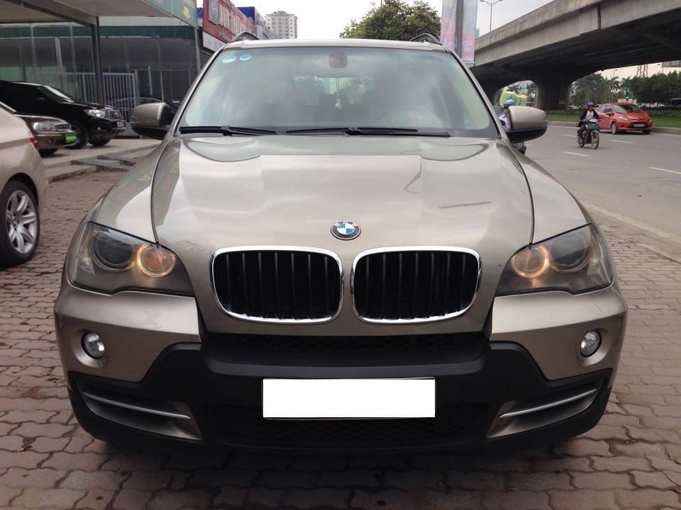 Xe BMW X5 đời 2007, màu nâu, nhập khẩu, xe đẹp