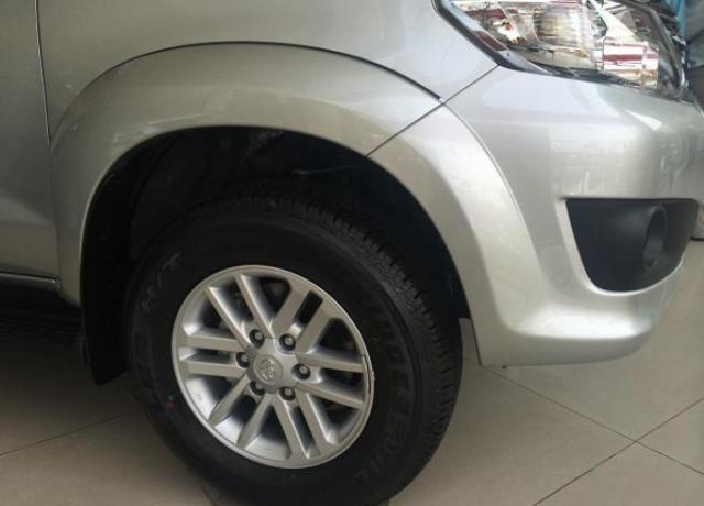 Bán Toyota Fortuner đời 2015, màu bạc, nhập khẩu nguyên chiếc