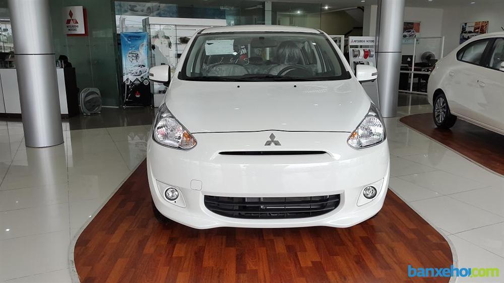 Cần bán xe Mitsubishi Mirage CVT đời 2016, màu đỏ, nhập khẩu chính hãng