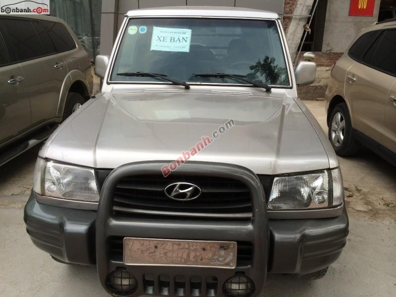 Cần bán Hyundai Galloper 2003, màu bạc, nhập khẩu chính hãng, như mới