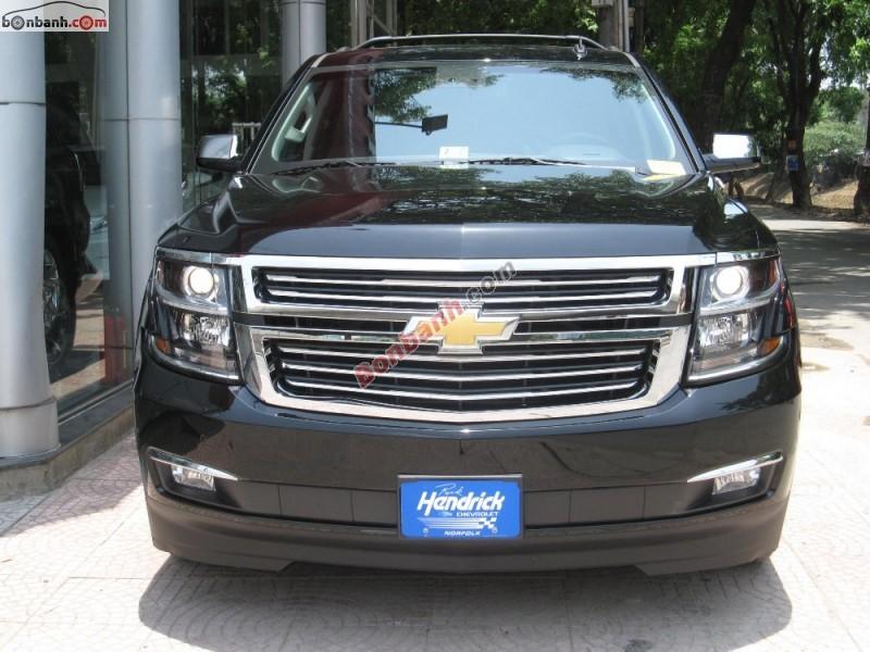 Bán Chevrolet Suburban đời 2015, màu đen, nhập khẩu chính hãng