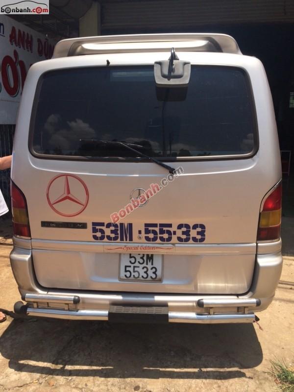 Cần bán xe Mercedes năm 2002, màu bạc, nhập khẩu chính hãng, còn mới