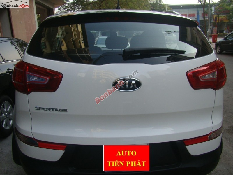 Auto Tiến Phát bán xe Kia Sportage 4WD đời 2011, màu trắng