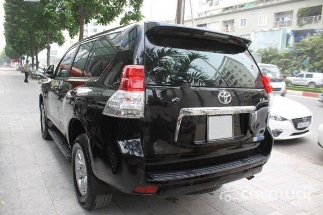 Bán Toyota Land Cruiser Prado AT đời 2009, màu đen, nhập khẩu đã đi 40000 km