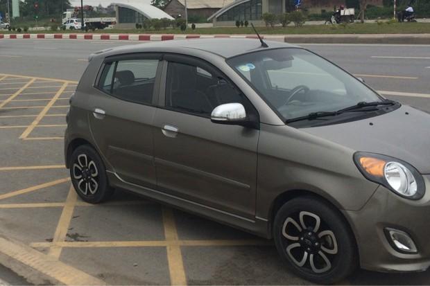 Bán ô tô Kia Morning SLX đời 2009, màu xám, nhập khẩu nguyên chiếc