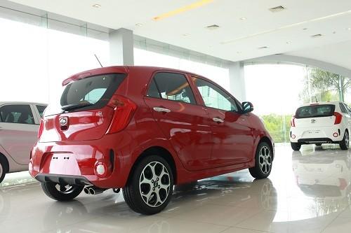 Kia Vũng Tàu - cần bán xe Kia Morning SI đời 2015, màu đỏ giá 423 triệu