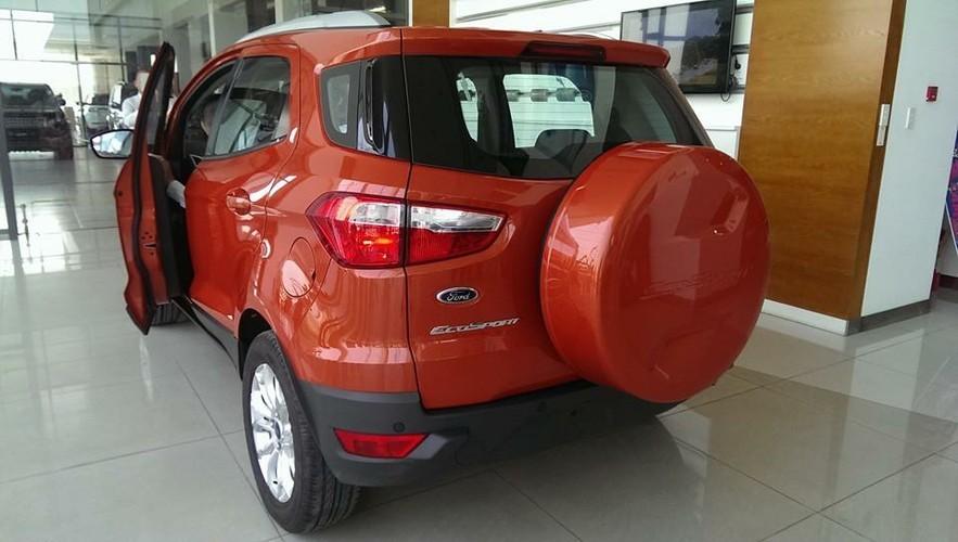 Ford Đồng Nai, Bình Dương Ford khuyến mãi Ford EcoSport Titanium năm 2016, màu đỏ