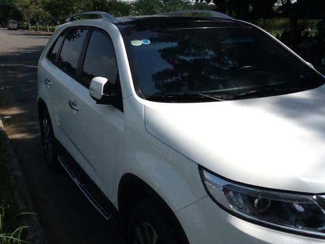 Cần bán lại xe Kia Sorento 2015, màu trắng, nhập khẩu chính hãng