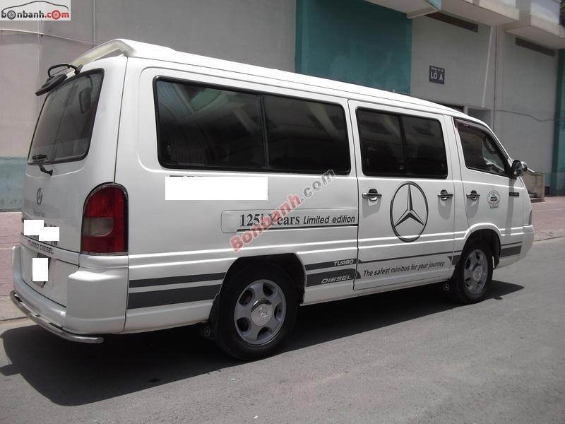 Xe Mercedes 140 đời 2002, màu trắng, còn mới giá cạnh tranh