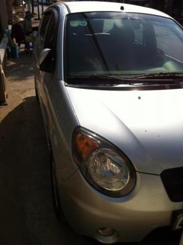 Cần bán Kia Morning AT đời 2008, màu bạc, xe nhập