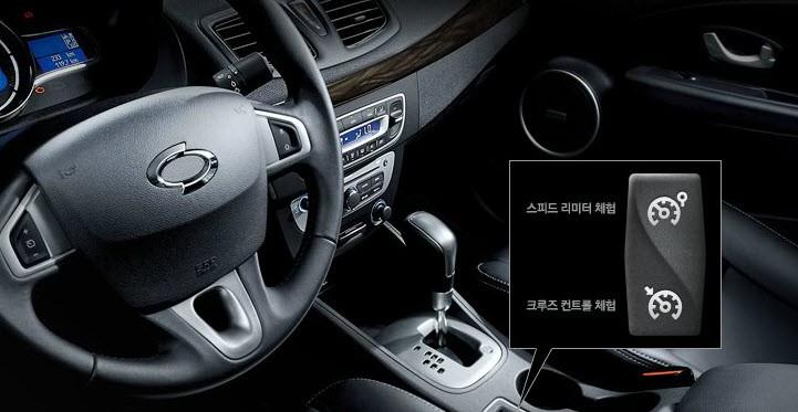 Bán ô tô Samsung SM3 LE sản xuất 2015 - hộp số tự động 6 cấp, chế độ đi số thể thao