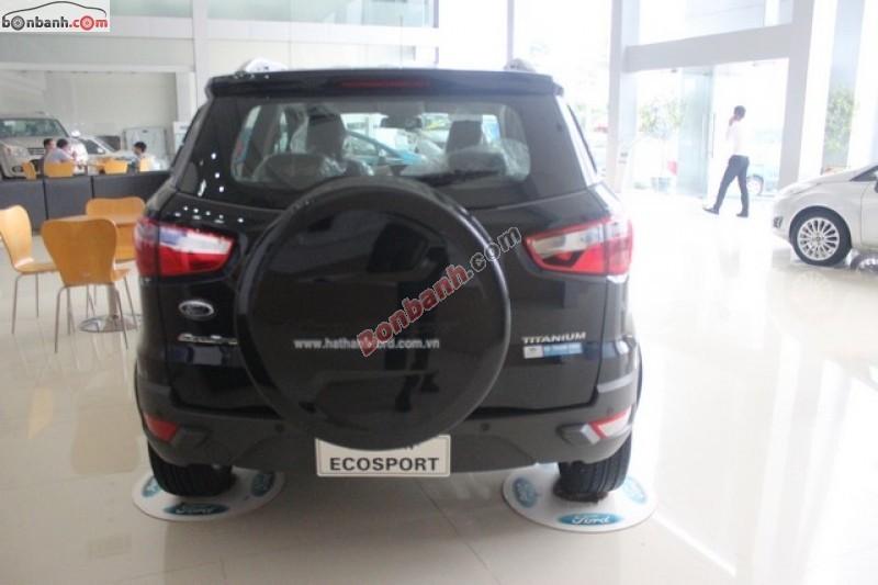 Cần bán Ford EcoSport đời 2015, màu đen, giá tốt