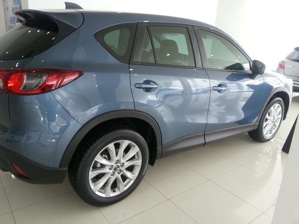 Bán Mazda CX 5 2015, màu xanh tại Mazda Long Biên