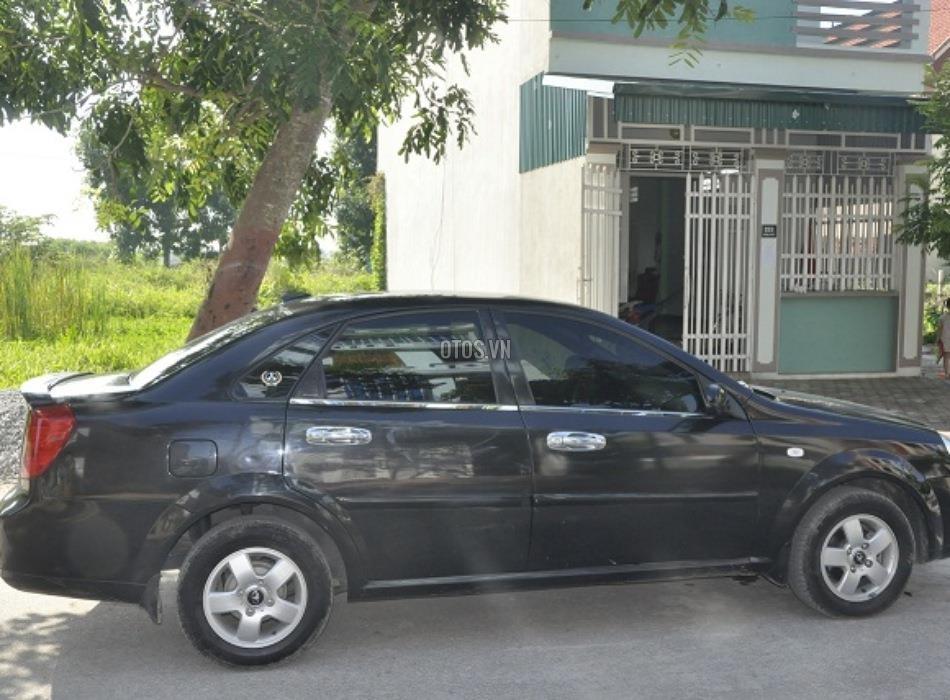 Bán Daewoo Lacetti EX-1.6 đời 2010, màu đen, giá chỉ 340 triệu