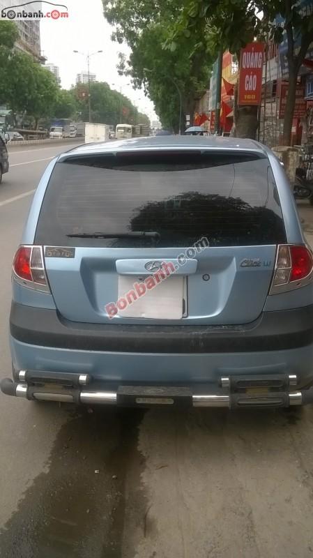 Cần bán gấp Hyundai Click năm 2008, nhập khẩu, số tự động