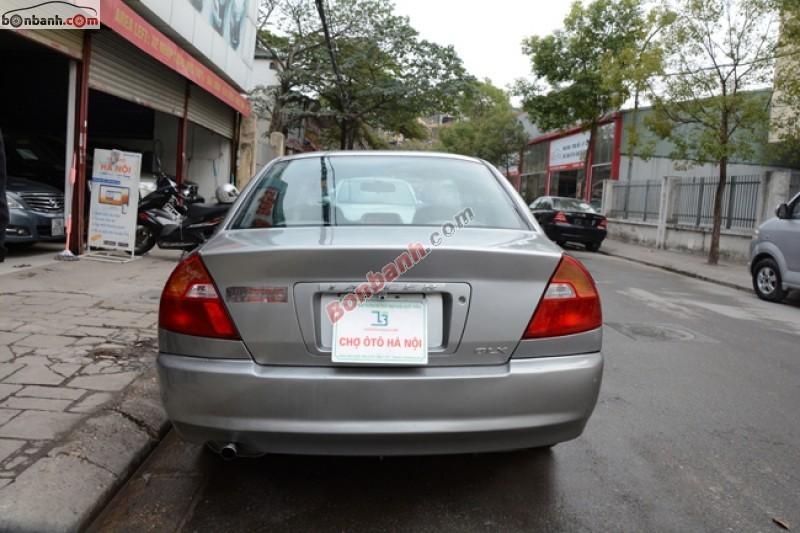 Cần bán xe Mitsubishi Lancer 1.6L đời 2002, màu xám số sàn