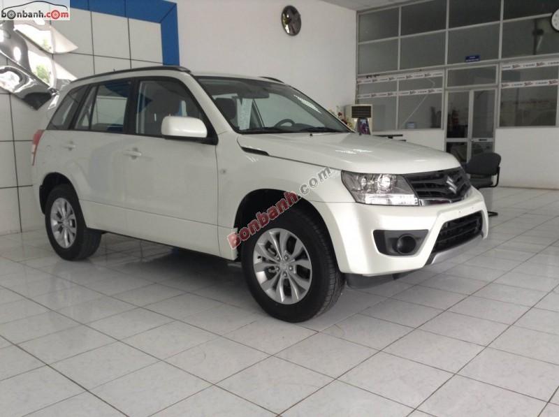 Bán Suzuki Grand vitara 4x4AT 2015, màu trắng, xe nhập, giá chỉ 810 triệu