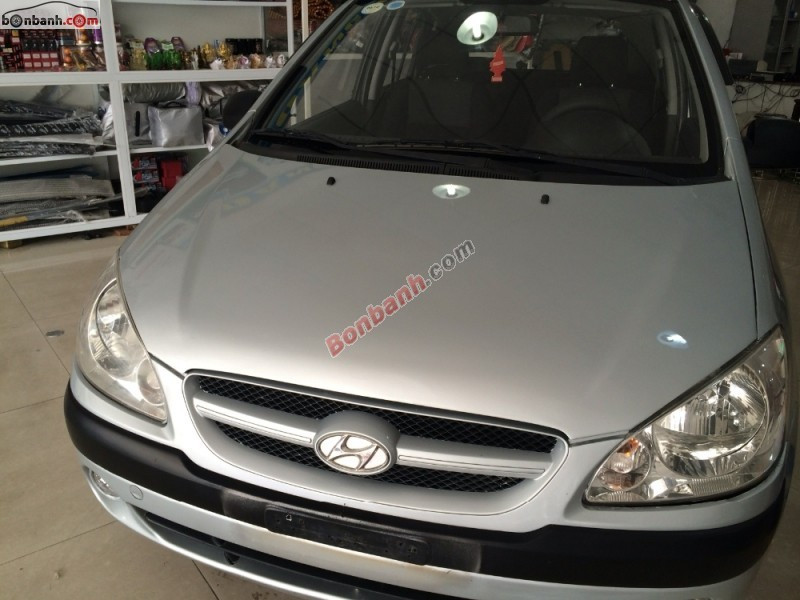 Cần bán xe Hyundai Click 2008, màu bạc, xe nhập, số tự động
