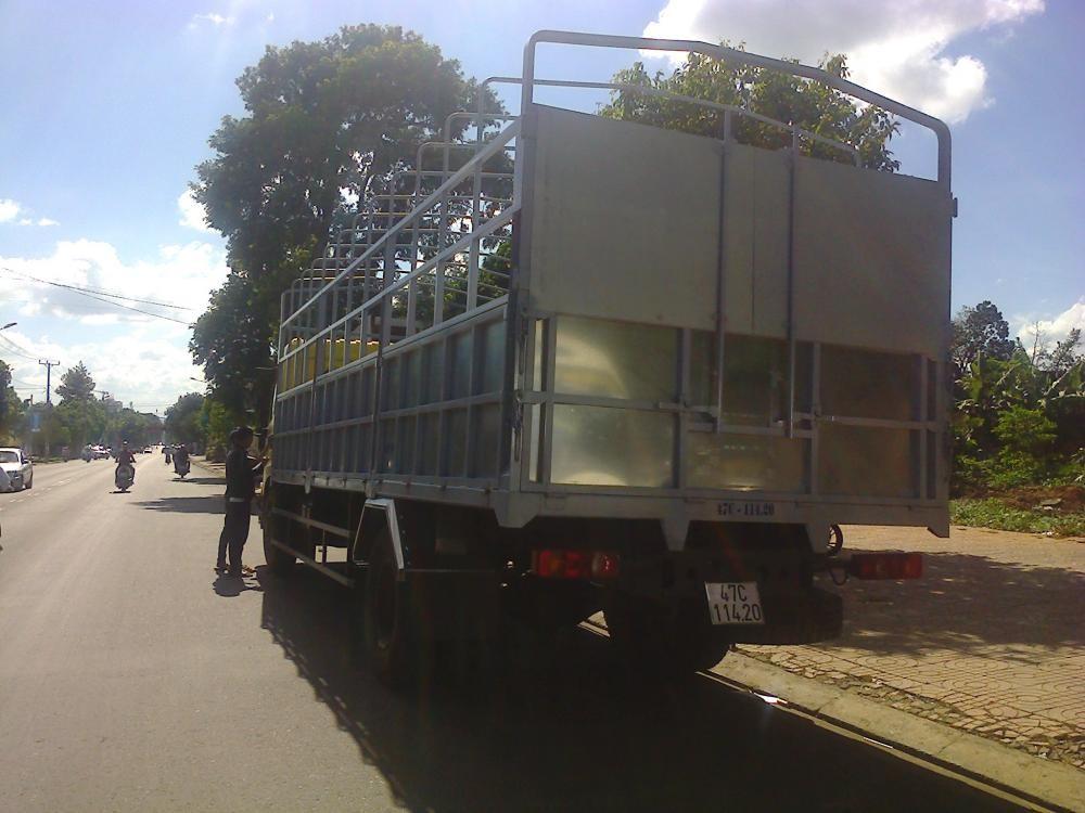 Đại lý bán xe tải Dongfeng nhập khẩu 9.6 tấn trả góp thùng nhà máy tiêu chuẩn