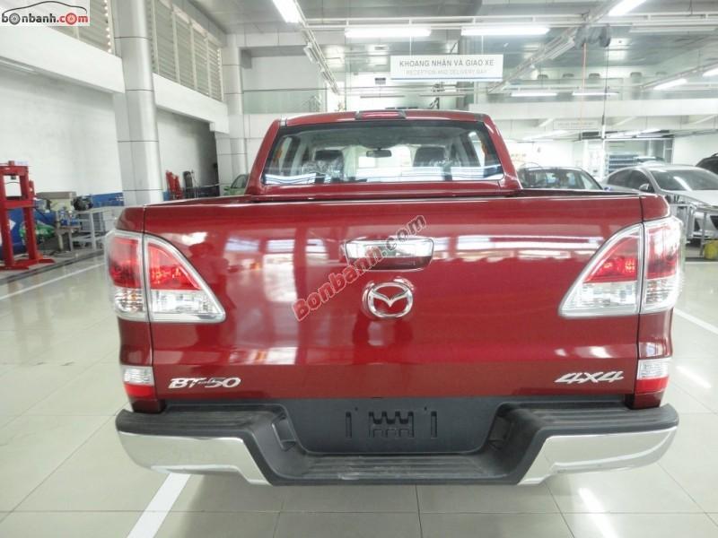 Bán xe Mazda BT 50 2.2MT 4WD đời 2014, màu đỏ, xe nhập