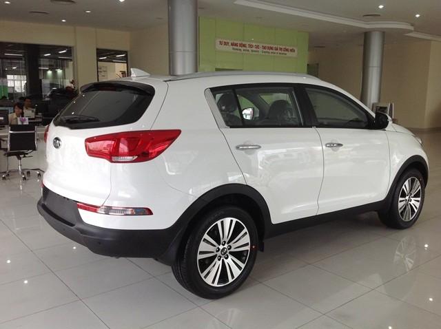 Bán ô tô Kia Sportage đời 2014, màu trắng, nhập khẩu, xe đẹp