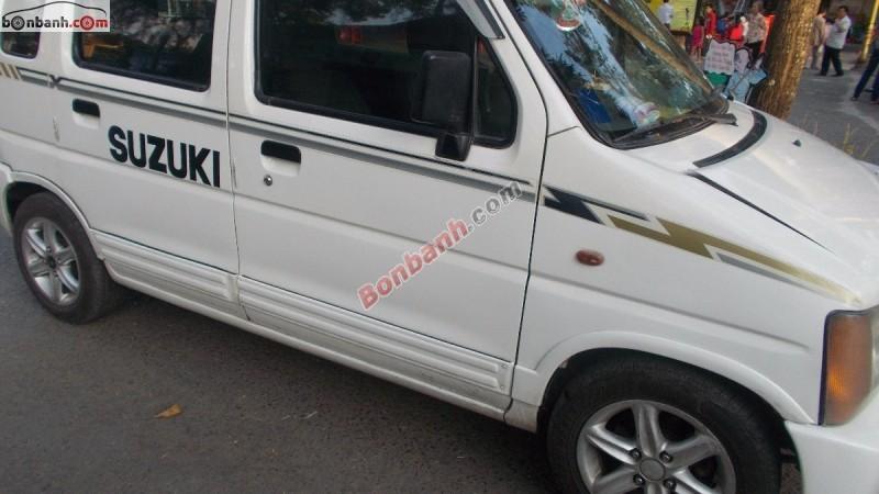 Cần bán lại xe Suzuki Wagon R đời 2002, màu trắng, chính chủ