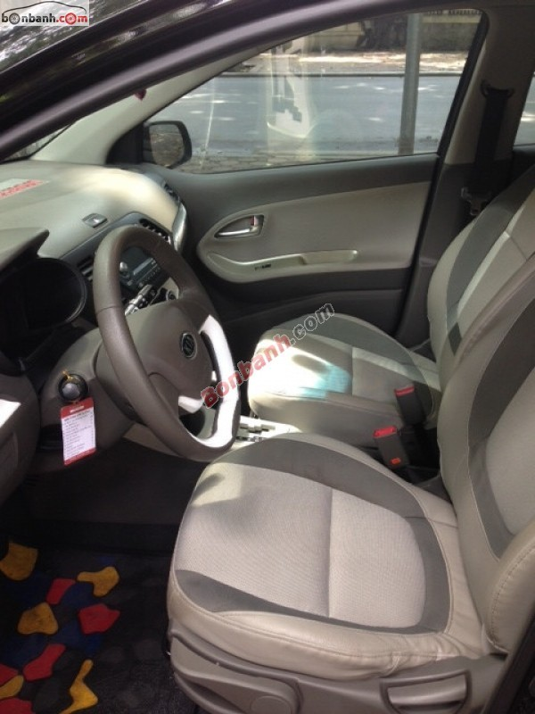 Cần bán Kia Picanto đời 2012, màu đen, nhập khẩu nguyên chiếc, chính chủ