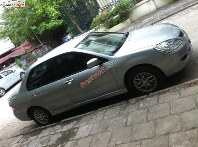 Chính chủ bán Mitsubishi Lancer GaLa AT sản xuất 2005, màu bạc, xe nhập