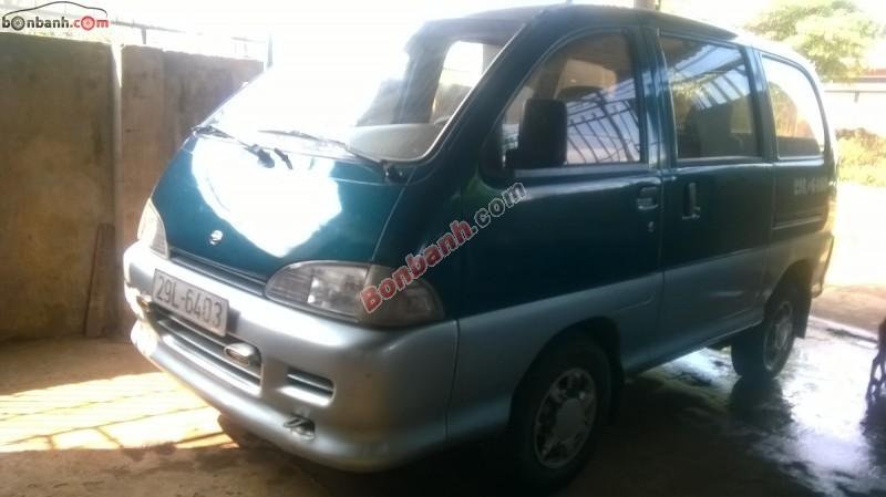 Gia đình bán Daihatsu Citivan đời 2001, màu xanh lam