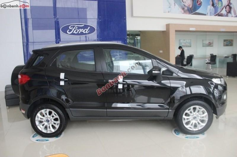 Bán xe Ford EcoSport Trend 1.5AT đời 2015, màu đen