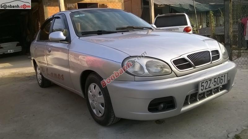 Cần bán lại xe Daewoo Lanos đời 2001, màu xám chính chủ, 116Tr
