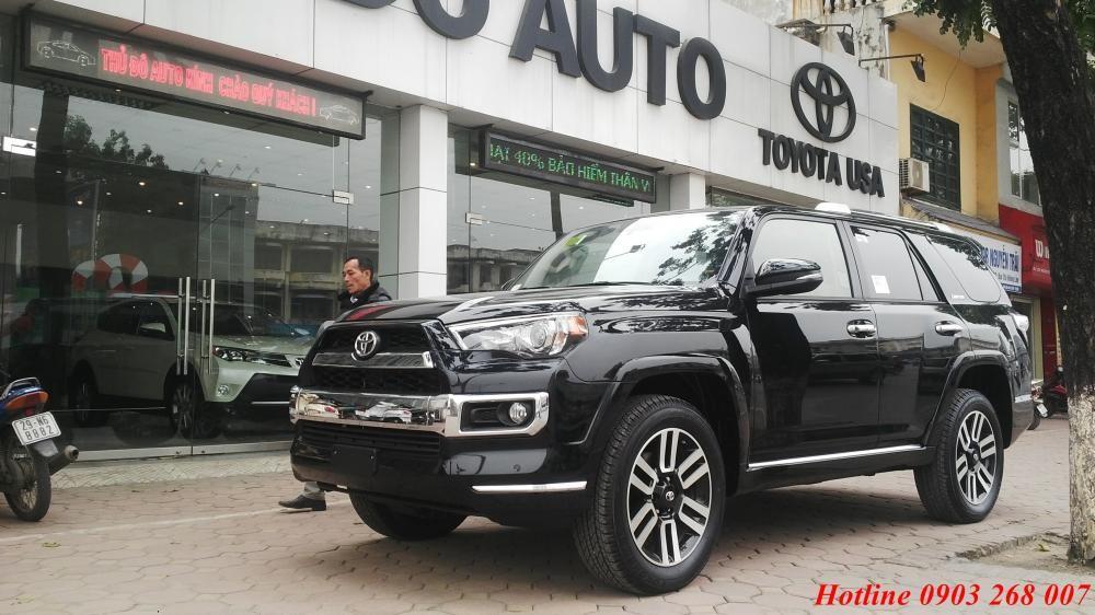 Cần bán xe Toyota 4 Runner đời 2017, màu đen, nhập khẩu chính hãng