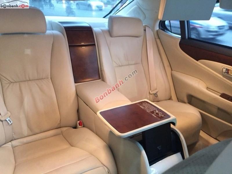 Ngọc Thy Auto cần bán lại xe Lexus LS 600HL 2009, màu xám, nhập khẩu nguyên chiếc chính chủ
