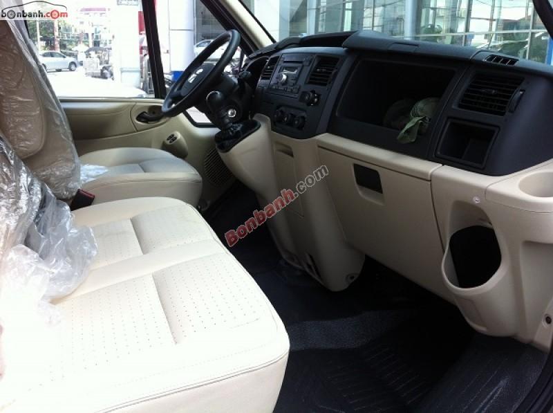 Cần bán Ford Transit Luxury đời 2015, màu bạc, giá chỉ 879 triệu