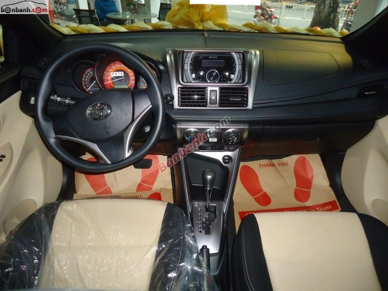 Bán Toyota Yaris E 2015, màu đỏ, nhập khẩu nguyên chiếc giá cạnh tranh