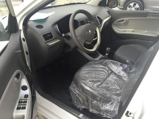 Cần bán xe Kia Morning đời 2015, màu trắng