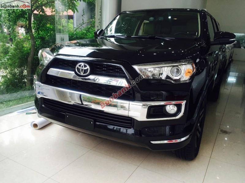 Bán ô tô Toyota 4 Runner Limited đời 2015, màu đen, nhập khẩu