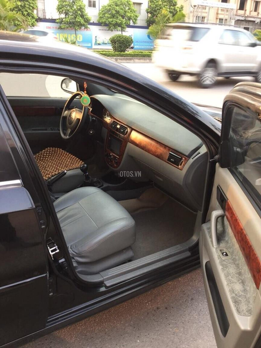Xe Daewoo Lacetti EX-1.6 đời 2009, màu đen, xe đẹp như mới