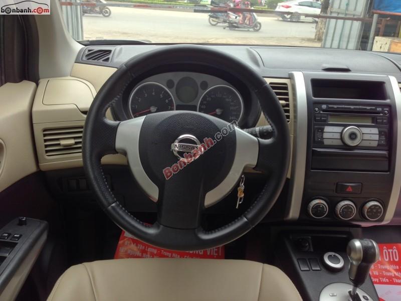 Cần bán xe Nissan X Trail 2.5 đời 2009, màu xám, giá chỉ 645 triệu