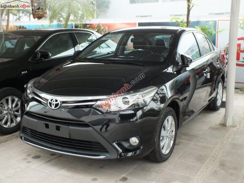 Bán xe Toyota Vios G 1.5AT đời 2015, màu đen, 649 triệu