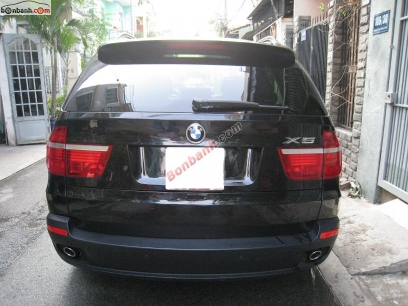 Cần bán gấp BMW X5 đời 2009, màu đen, nhập khẩu chính hãng
