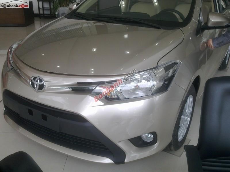 Bán Toyota Vios 1.5E MT năm 2015, giá chỉ 582 triệu