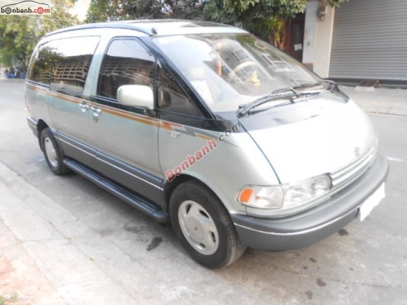 Cần bán Toyota Previa đời 1992, xe nhập số tự động
