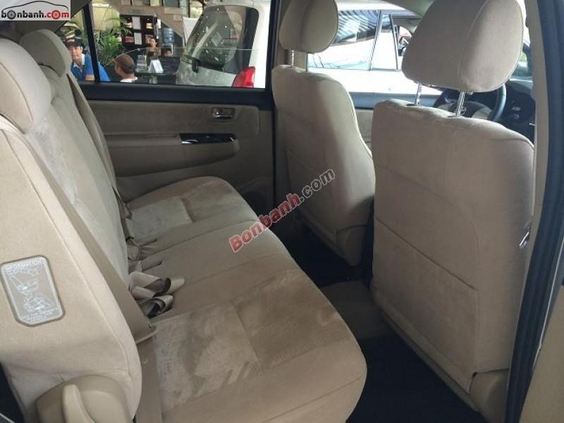 Xe Toyota Fortuner 2.5G 2016 giá tốt cần bán