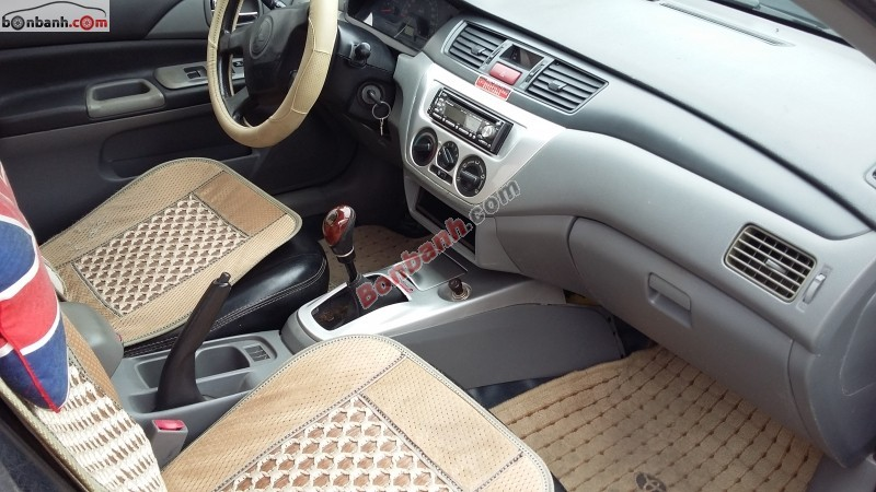 Bán xe Mitsubishi Lancer đời 2003, màu xanh lam, nhập khẩu số sàn, giá 215tr